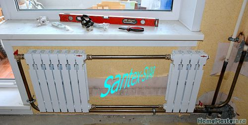 замена радиатора отопления на сварке в угловой квартире - Размер 172,89К, Загружен: 0