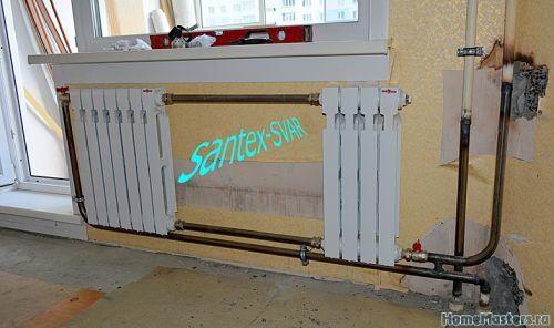 2 радиатора на стояк сварка отопления - Размер 192,92К, Загружен: 0