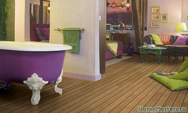 Водостойкий ламинат в ванной - Размер 79,05К, Загружен: 1