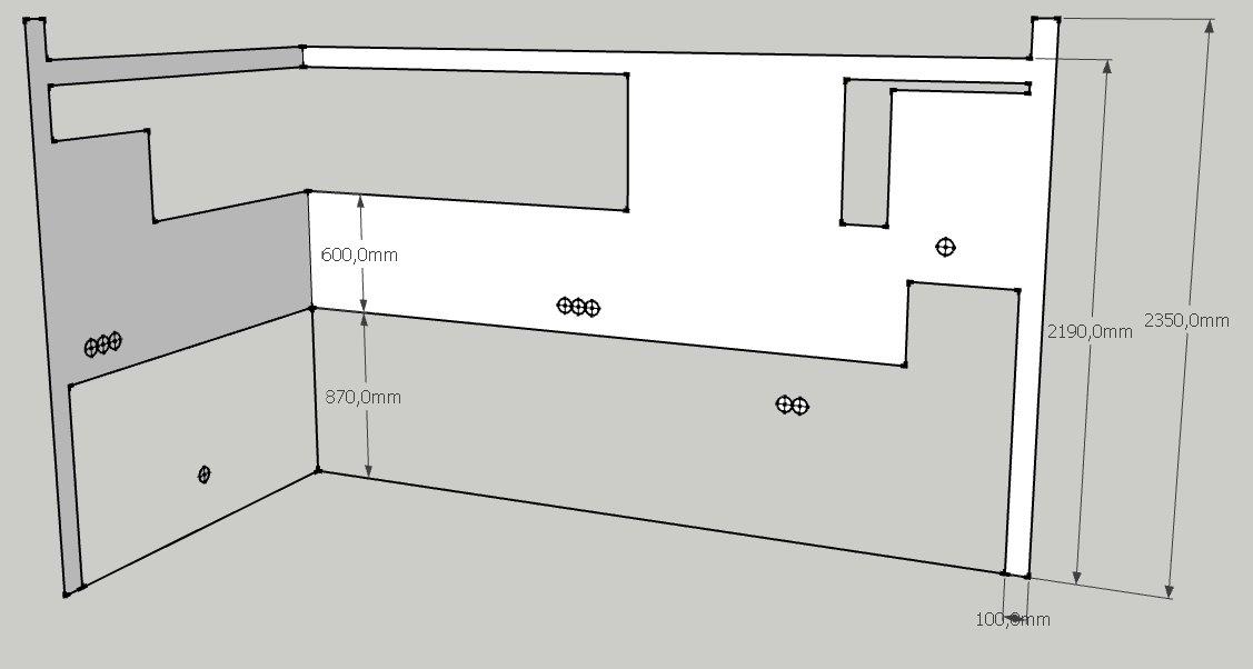 как рассчитать количество плитки на фартук кухни
