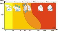 Последствия влияния электрического тока на организм человека.