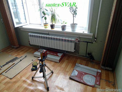 монтаж радиатора отопления на сварке - Размер 221,55К, Загружен: 0