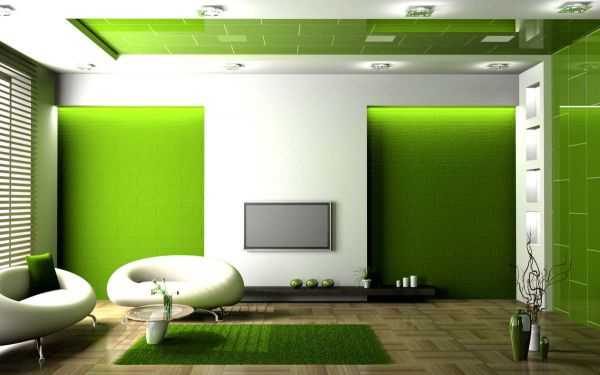 Зеленый цвет в интерьере - Размер 72,9К, Загружен: 0