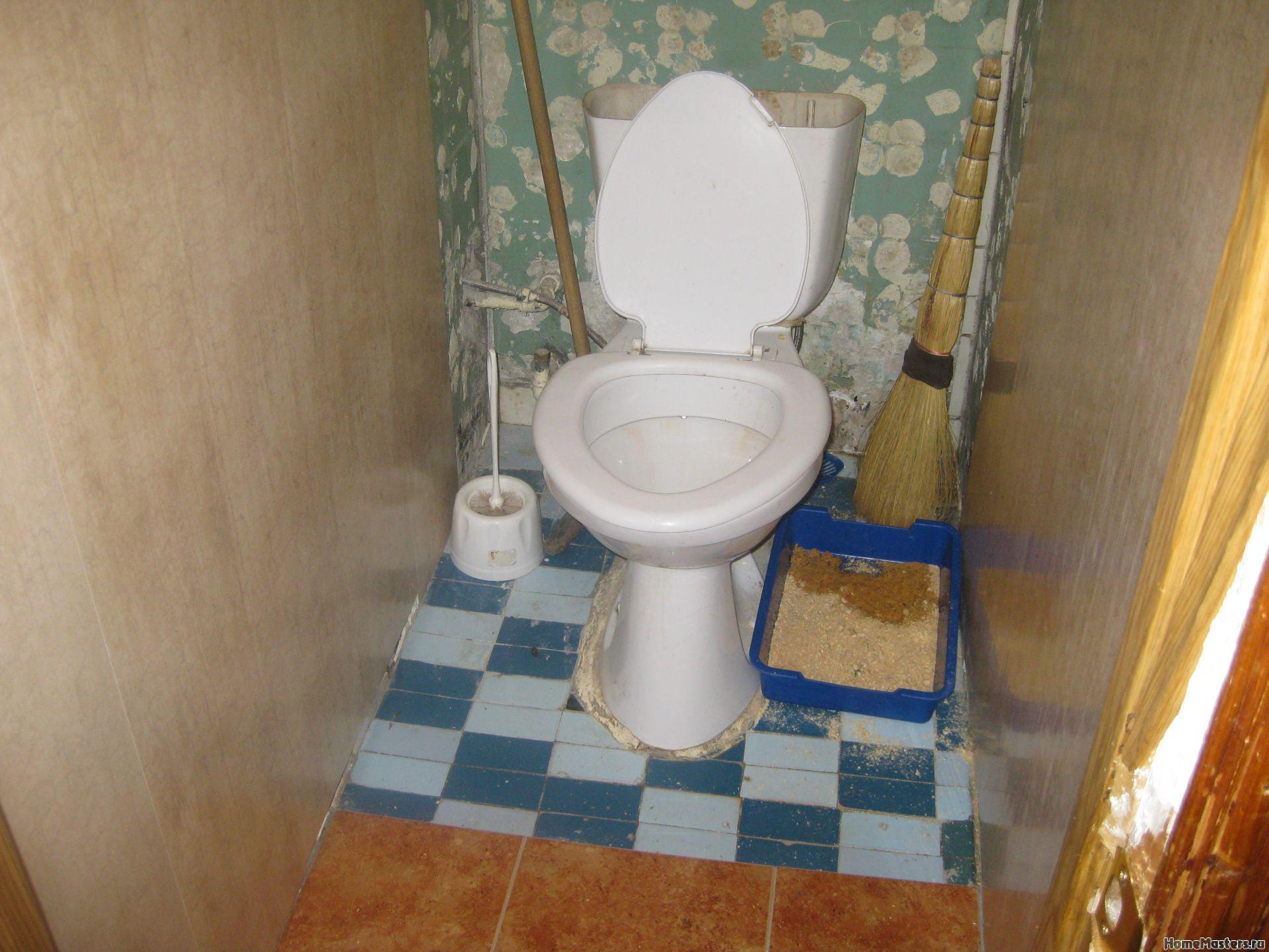Бюджетный туалет своими руками фото 916