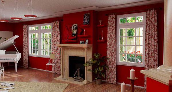 красный цвет в интерьере - Размер 55,85К, Загружен: 0