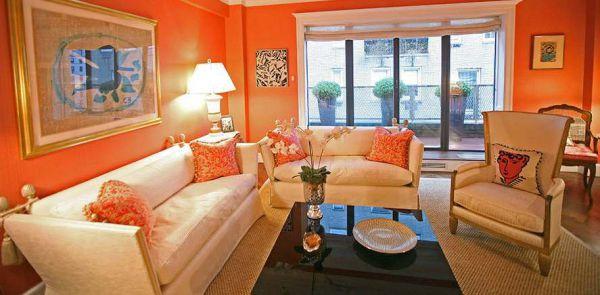 Оранжевый цвет в интерьере - Размер 56,46К, Загружен: 0