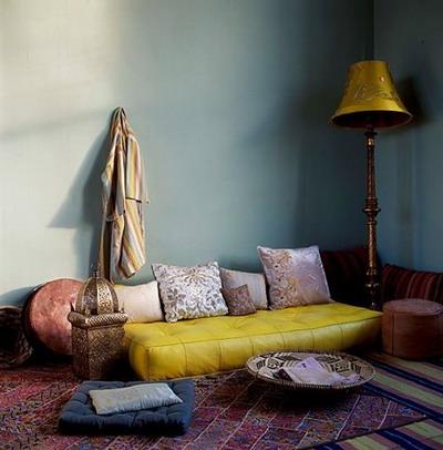 Дизайн подушками