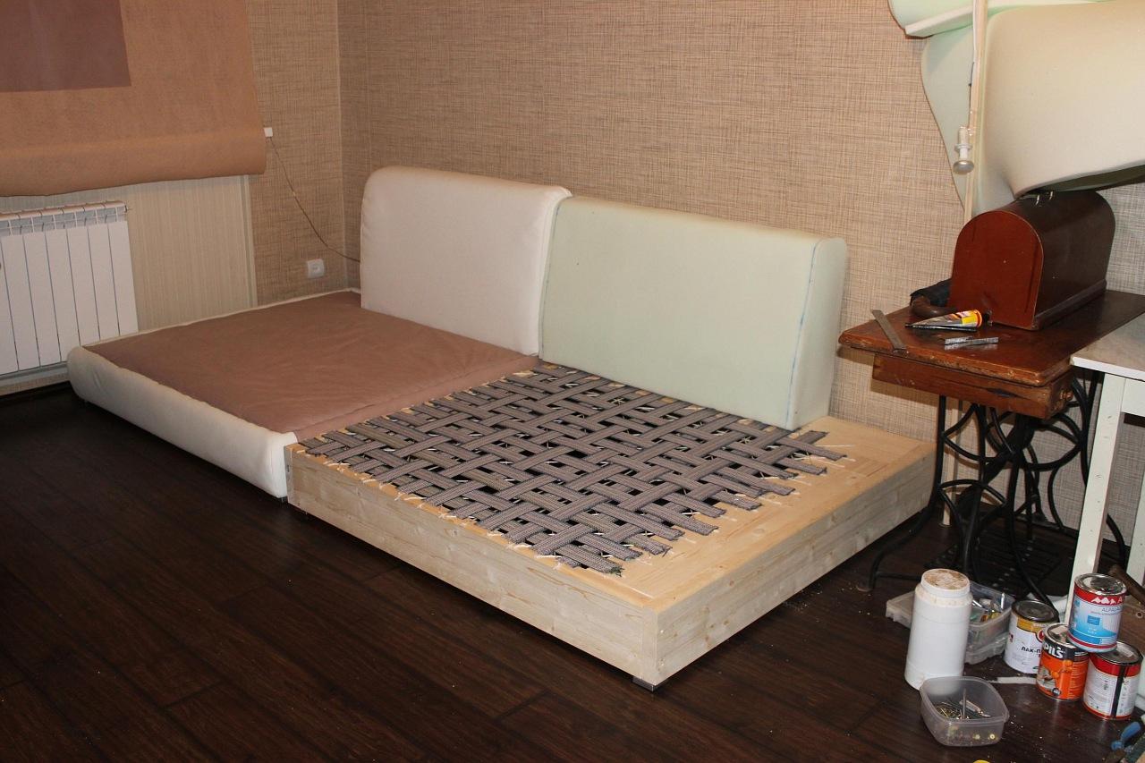 Как сделать кровать из дивана