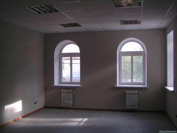 Откосы из Гкл на арочном  окне