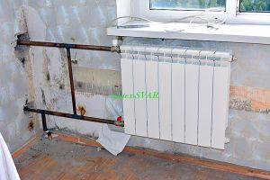 монтаж радиатора отопления на сварке - Размер 465,24К, Загружен: 556