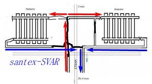 схема монтажа радиатора отопления - Размер 198,82К, Загружен: 375
