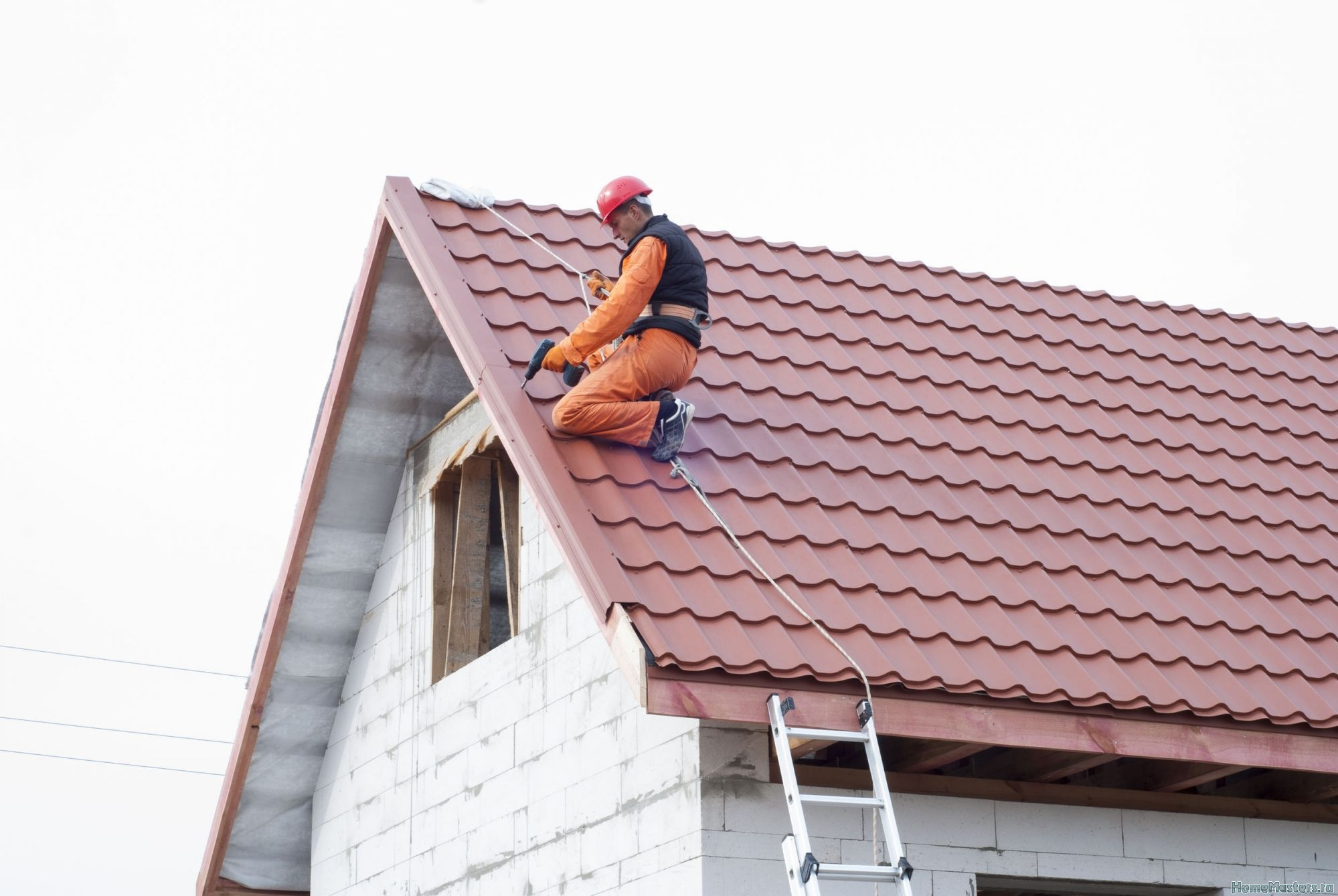 Монтаж крыши своими руками ютуб