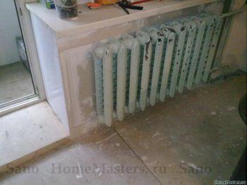 Ниша для радиатора отопления или  что с ней можно сделать
