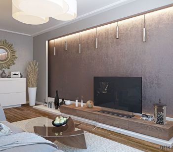 Дизайн современной двухкомнатной квартиры