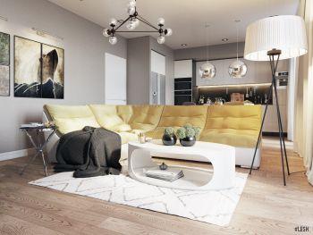 Дизайн квартиры в Балтийской жемчужине