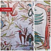 Шведские ткани с фантазийным рисунком
