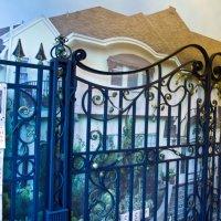 кованые ворота в петербурге