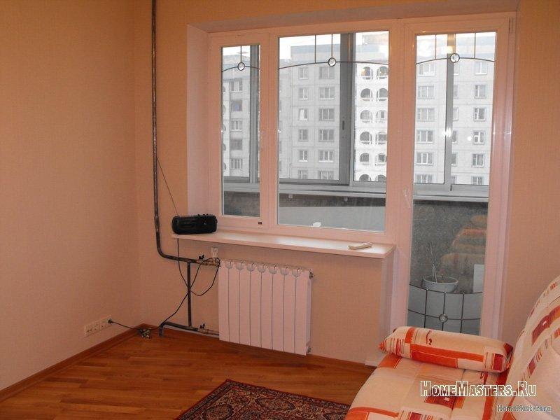 Балконный блок фото в интерьере.