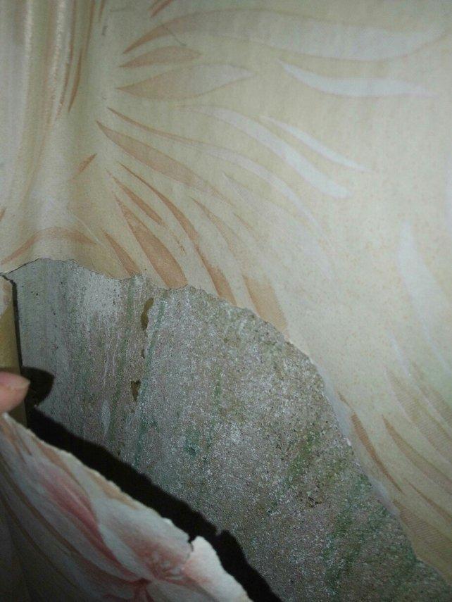От соседского ремонта сыпется с потолка