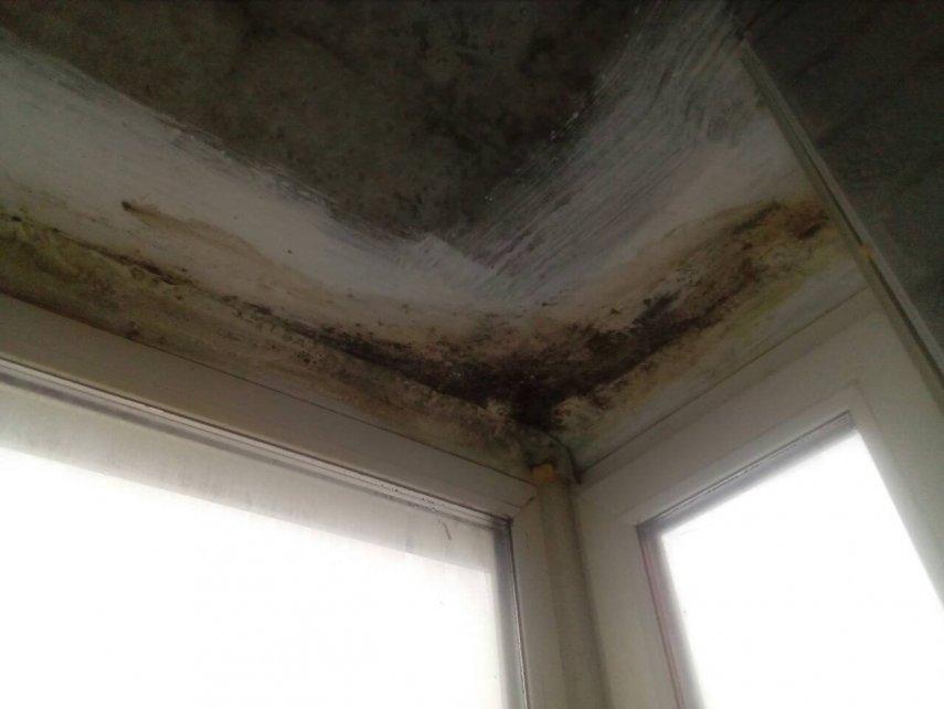 Утепление потолка у окна в квартире