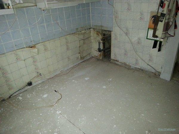 История одного отдельно взятого ремонта пола кухни
