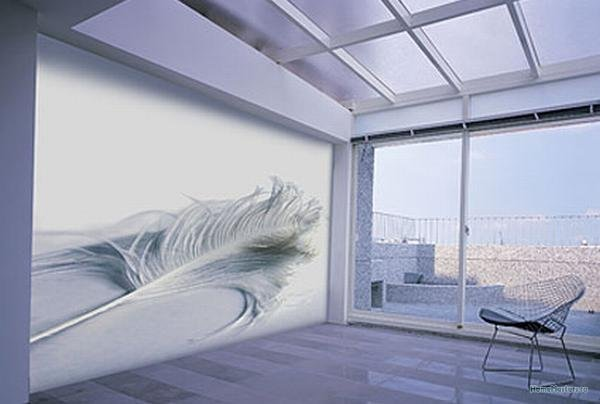 adsz plume.jpg.bf452e69ead7bbed5254b4479093faa9 6 способов использования натяжных стен | Стройматериалы и технологии Фото