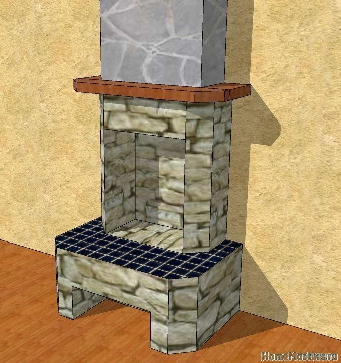 Портал для электрокамина своими руками (Почти Настоящий Камин))