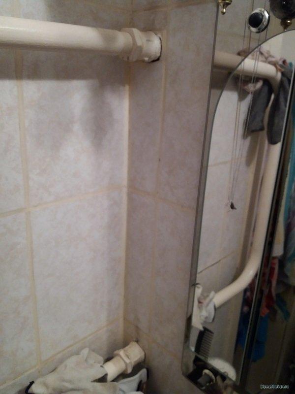 Схема замены полотенцесущителя