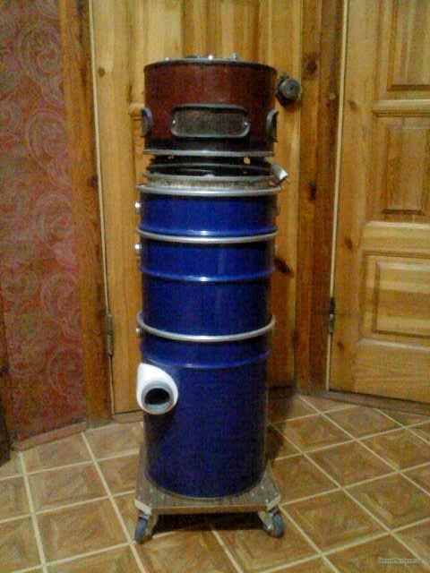 Кажись всё или строительный пылесос с тройной мультициклонной ступенью очистки