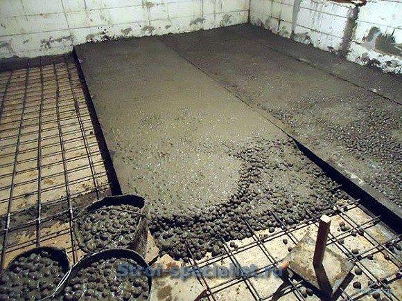 Керамзитобетон в полу таблица состава бетонной смеси